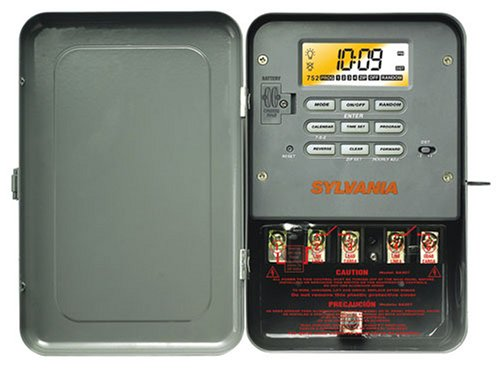 Sylvania SA307 40 Amp 240-Volt Double-Pole Zip Set Industrial Timer
