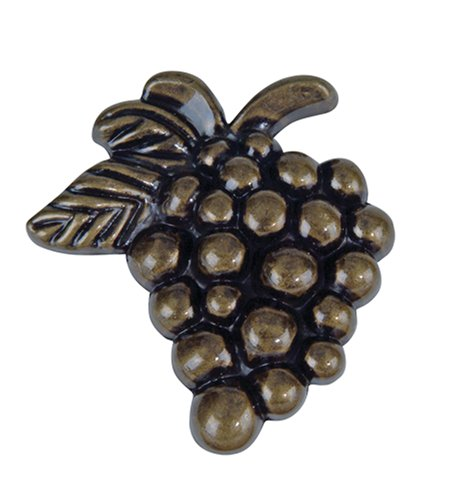 -BB 2-Inch Grapes Knob, Burnished Bronze ()