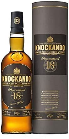 Knockando 18 Years Old Slow Matured Single Malt Scotch Whisky 2001 43% - 700 ml in Giftbox