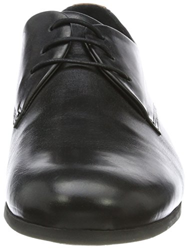 W Uomo Cast Derby Black 01 Nero Shoe Black Scarpe Royal Stringate RepubliQ Base Sole TvwqBt