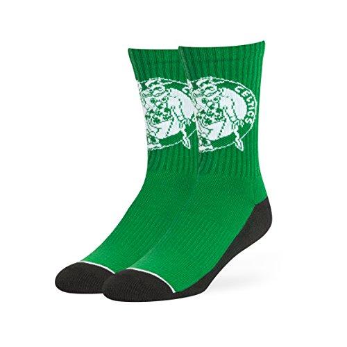 NBA Boston Celtics OTS Anthem Sport Sock, Kelly, Large