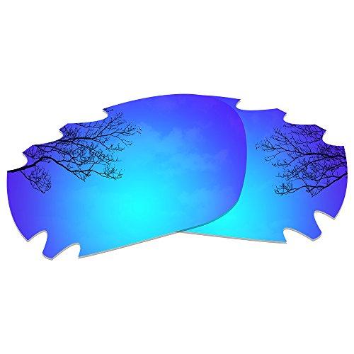 Dynamix Polarized Replacement Lenses for Oakley Jawbone/Racing Jacket - Multi Options (Deep Blue, Polarized Enhanced) ()