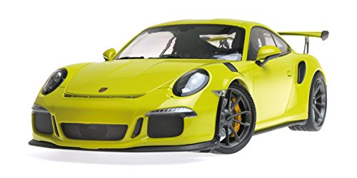 2015 Porsche 911 GT3 RS Light Green Limited Edition to 1,002 Pieces Worldwide 1/18 Diecast Model Car by Minichamps 155066222