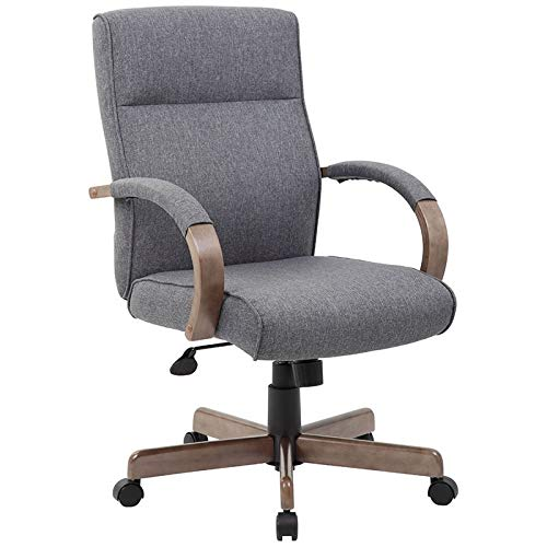 Boss Office Products (BOSXK) Chairs Executive Seating, Gray