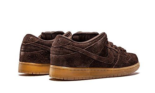 Nike Herren Dunk Low Premium Ankle-High Leder Fashion Sneaker Braun