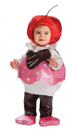 Rubie's Costume Trick Or Treat Sweeties Sweetheart Cupcake Costume, Pink, Toddler - Cherry Girl Costumes