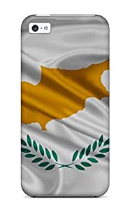 For Iphone 5c Fashion Design Cyprus Flag White Yellow Green World Nature Other Case-hJJLgIv1076XsaQo