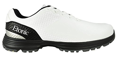 Etonic Men's Stabilizer Shoes, White/Silver/Black, Size 9.5 Medium