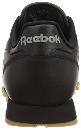 Classic int Homme 000 Baskets Leather black Reebok gum Noir 6wTad6