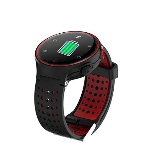 X2 Sports Smart Watch Heart Rate Blood Pressure Monitor Waterproof Bracelet by Sunfei (Red) by ®Sunfei (Image #3)