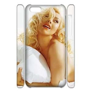 3D [Christina Aguilera Series] IPhone 5C Case Christina Aguilera - White