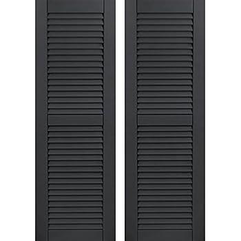 Amazon.com: LTL Home Products SHL55 Exterior Window Louvered ...