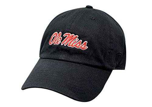 Top of the World Mississippi Old Miss Rebels Men's Hat Icon, Black, Adjustable
