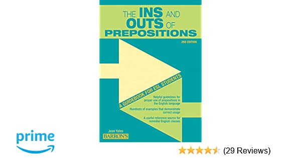 ins and outs of prepositions pdf