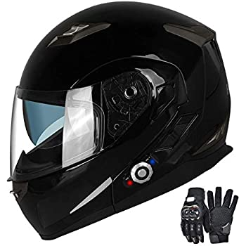 Amazon Com Bilt Techno 2 0 Sena Bluetooth Modular Helmet
