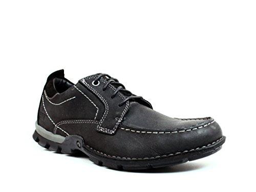 Caterpillar Men's Oberon Lace Up Casual Shoe - Wide Black (12, Black)