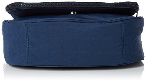M Kipling C Sacs Earthbeat Satin bandoulière Bleu Blue qaOHa5