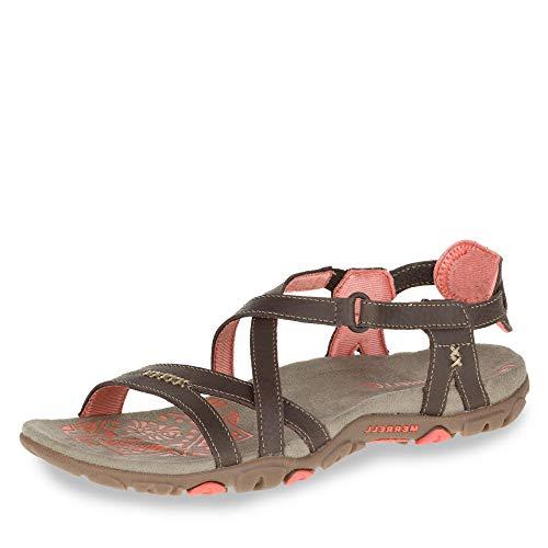 - Merrell Women's, Sandspur Rose Sandal Cocoa 8 M