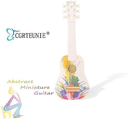 CGRTEUNIE Acústica clásica de 6 cuerdas 21 pulgadas Guitarra de ...
