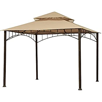 Garden Winds Riplock 350 Replacement Canopy for Summer Veranda Gazebo  sc 1 st  Amazon.com & Amazon.com : Garden Winds Havenbury Gazebo Replacement Canopy ...