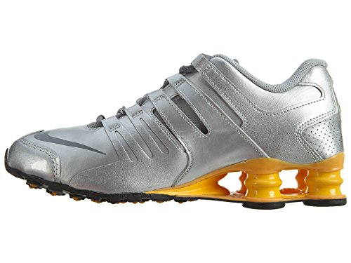 Nike Shox Current Womens Metallic Silver/Cool Grey/Lsr Orange free shipping for cheap tumblr cheap online cheap sale 2014 new best cheap online TSfLJo
