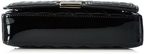 Love Moschino JC4017, Borse a Tracolla Donna, Nero (Black), 6x18x29 cm (B x H x T)