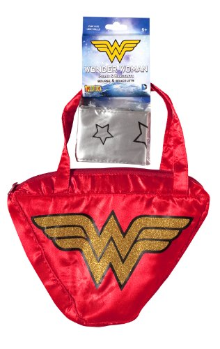 Wonder Woman Purse and Bracelets Set