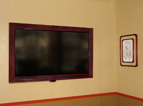 Amazon.com: TV Frames Now 42 inch Mahogany Universal TV Frame ...