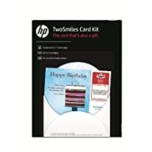 HP TwoSmiles Card Kit 5x7 10 count