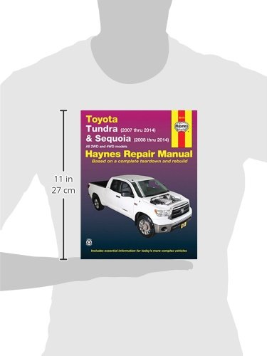 toyota tundra 2007 thru 2014 sequoia 2008 thru 2014 all 2wd rh amazon com 2007 toyota tundra repair manual 2007 toyota tundra manual transmission