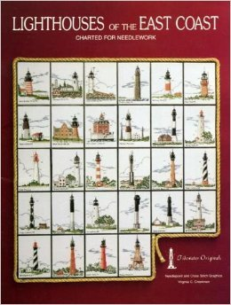 Lighthouses of the East Coast: Charted for needlework - East Coast Lighthouses