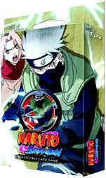 Naruto Shippuden Card Game Will of Fire Theme Deck ...