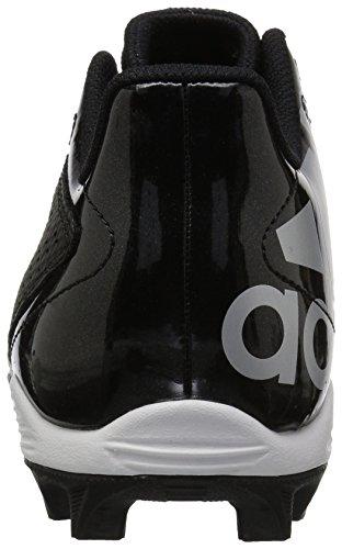 adidas Unisex 5-Star md Football Shoe, Black/White/Night Metallic, 6 M US Big Kid by adidas (Image #2)