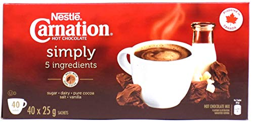 - Nestle Carnation Simply Hot Chocolate (40 Packets)