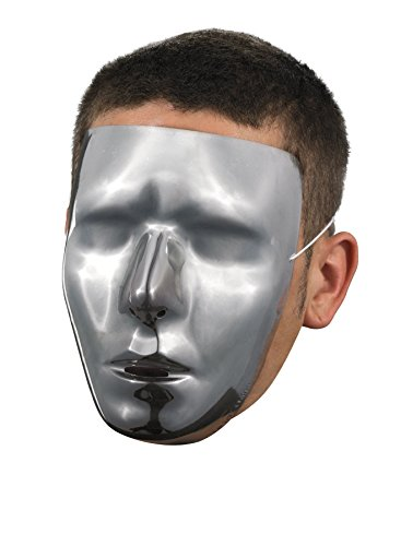 Disguise Blank Chrome Mask