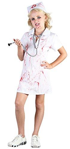 Nurse Mad Halloween Costume (Large Girls Mad Nurse Costume)