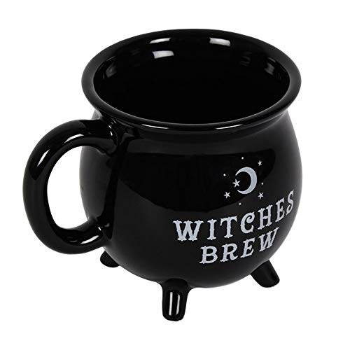 Large Witches Cauldron Halloween - Witches Brew Cauldron Mug (One Size)