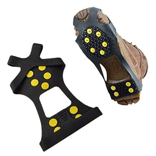 ezyoutdoor-10-pairs-crampons-nonskid-soles-iceclaw-winter-ice-slip-snow-shoe-cover-spikes-grips-clea