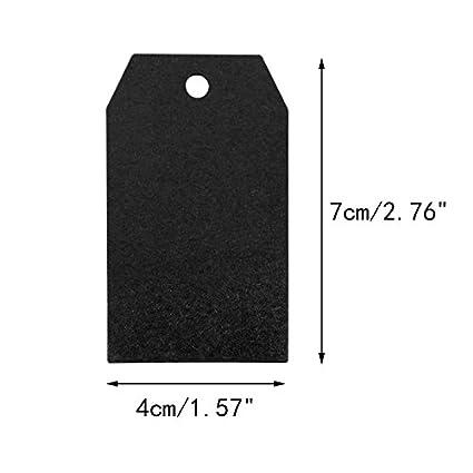 Braun 7 CM Kraftpapier Etiketten Tags Geschenk Anh/änger Papieranh/änger H/ängeetiketten Anh/ängeetiketten mit Jute-Schnur 30 Meter 100 St/ück 4 CM