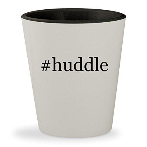Price comparison product image #huddle - Hashtag White Outer & Black Inner Ceramic 1.5oz Shot Glass