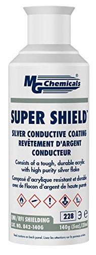 Aerosol Chemical (MG Chemicals Super Shield Silver Conductive Coating, 5 oz., Aerosol Can)