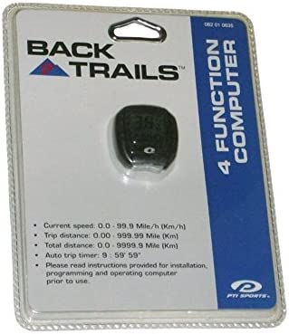 Back Trails 4 Function Bicycle Computer