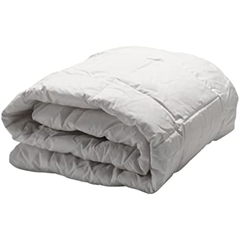 AllerEase Hot Water Washable Allergy Protection Comforter -Hypoallergenic, Allergist Recommended - Blocks Dust Mites and Other Allergens - Lightweight All-Season Comforter - King, White
