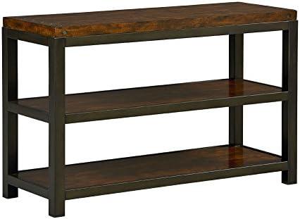 Standard Furniture Mackenzie Console Table, 48 W x 18 D x 30 H, Brown