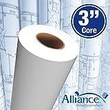 "Alliance CAD Paper Rolls, 24"" x 150', 92"