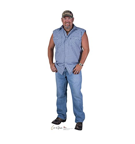 Larry the Cable Guy - Advanced Graphics Life Size Cardboard Cutout (Stand Up Cardboard People)