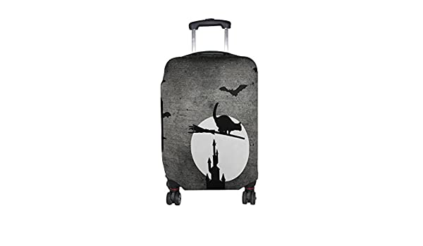 LEISISI Halloween Pattern Protector Cover Elastic Suitcase Cover Luggage Cover Protector XL 31-32 inch