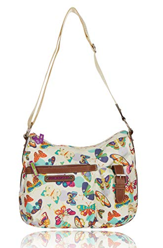 (Lily Bloom Kathryn Hobo Bag (Butterfly Twister))