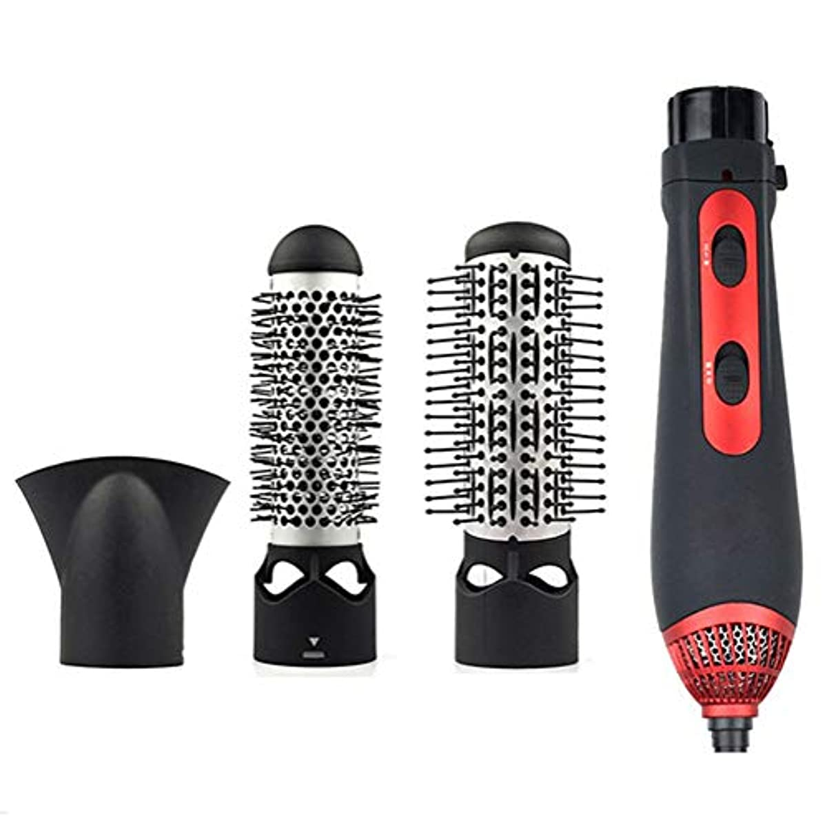 [해외] NSSZ HAIR DRYER CURLING MACHINE HOT COLD WIND WET AND DRY SMOOTHING BRUSH HAIR STRAIGHTENER HOT AIR COMB SUIT