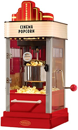 082677211910 - Nostalgia HKP200 Hollywood Series 2.5-Ounce Kettle Popcorn Popper with Personalized Lighted Marquee carousel main 0